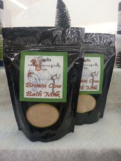 Soaking Salts & Bath Milks by Soulia on Etsy, $10.00