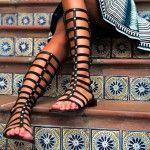 Fashion trend: Gladiator sandals! (photos) | foititakos.gr | Το μεγαλύτερο φοιτητικό blog, από το 2007!