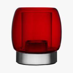 Kaasa, cheminée rouge, Iittala. #SaintValentin #Ideas #Heart #LeBonMarche