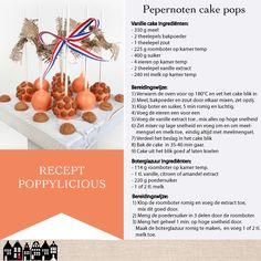 Pepernoten cake pops door Poppylicious