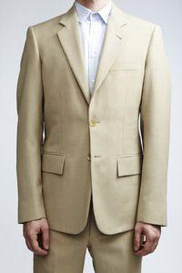 Various Projects Tropical Linen Suit