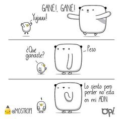 Gané!, gané! #opi #kipi #cute #kawaii #mostropi #ilustración #dibujo | Flickr - Photo Sharing!