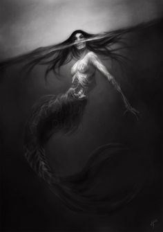 Merwitch Pirate Woman, Zombie Girl, Scary Mermaid, Siren Mermaid, Mermaid Art, Siren Tattoo, Mermaid Tattoos, Evil Mermaids, Mermaids And Mermen
