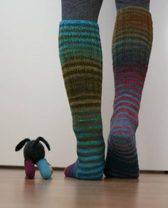 .knees socks....yes please!  stripes.....even better!