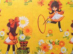 He encontrado este interesante anuncio de Etsy en https://www.etsy.com/es/listing/185438244/vintage-gift-wrapping-paper-juvenile