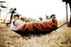 newborn photo shoot by Courtney Sargent