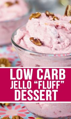 Keto Jello Salad Recipe: Want an amazing and oh-so-easy Low Carb and Sugar-Free Dessert? Look no further, this Keto Black Cherry Jello Fluff dessert is exactly what you need to satisfy your sweet tooth! Sugar Free Jello Keto, Sugar Free Pudding, Sugar Free Cheesecake, Low Carb Cheesecake, Sugar Free Recipes, Keto Recipes, Diabetic Recipes, Atkins Recipes, Flour Recipes