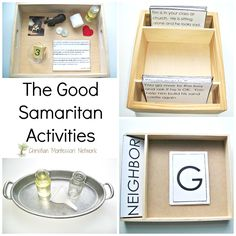 The Good Samaritan Activities                                                                                                                                                     More