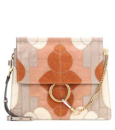 Chloé - Faye Medium suede shoulder bag - Chloé s  Faye  bag is a timeless e291f709f9