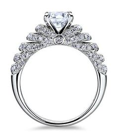 robbins brothers designer side stones engagement rings romantic pinterest scott kay engagement and weddings - Kays Wedding Rings