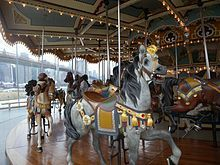 Idora Park Carousel, Youngstown, Ohio.  It is now in Brooklyn, NY