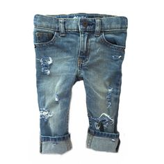 Sometimes, less is more. Named after my oldest boy, this style is hand-distressed for the laid back (well- most of the time) trendy little dude or gal in your life. Our popular HT Jeans have been updated for the Spring/Summer! This new, tumble wash brings vintage flair to our simple design. Available in sizes 6M-5T (infant/toddler) and sizes 6-12 (kids). Jeans will be a unisex skinny fit with an adjustable waistband. All denim used is new, OshKosh brand. Distressing will be as shown in the…