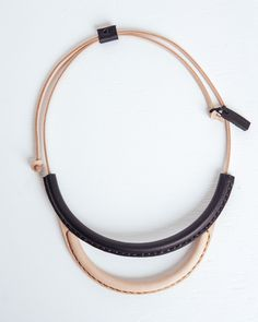 Crescioni leather jewelry sold at Founders & Followers