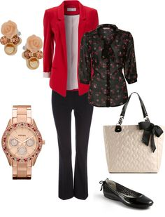 """Office casual"" by krmckinney on Polyvore"