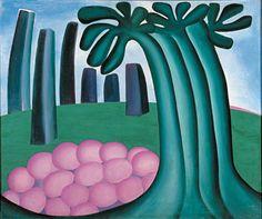 Tarsila do Amaral, Floresta, 1929, óleo/tela, Museu de Arte Moderna de São Paulo.