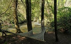 I bet the river sounds amazing!  Could somebody bring me a margharita?  River Dance, Sliding Rock Cabins, Ellijay GA