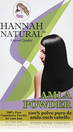 Hannah Natural 100% Pure Amla Herbal Powder, 100 Gram ** Click here for more details @ http://www.amazon.com/gp/product/B00976UKJ4/?tag=passion4fashion003e-20&hi=100816050123