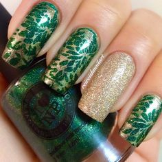 valentine rockstar nails