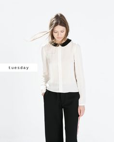 For Work - #zaradaily #tuesday #newthisweek #woman #shirts #aw14