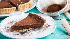 Τάρτα σοκολάτας με ζύμη βρώμης   alevri.com