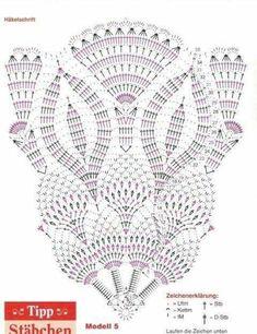 Kira scheme crochet: Scheme crochet no. 2027