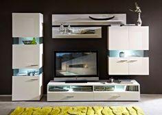 wohnwand in grau, weiß von xora | wohnwände | pinterest | 30th - Wohnzimmer Wohnwand Weiß