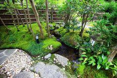京都南禅寺大寧軒の玄関前