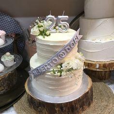 aniversario de plata Birthday Cake, Desserts, Food, Silver Anniversary, Tailgate Desserts, Deserts, Birthday Cakes, Essen, Postres