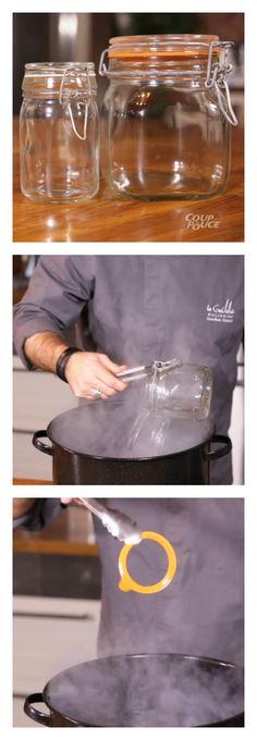 Comment utiliser les pots à charnière et s'assurer qu'ils soient bien scellés ? #conserve #video