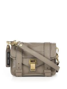 PROENZA SCHOULER Ps1 Mini Leather Crossbody Bag. #proenzaschouler #bags #shoulder bags #leather #crossbody #