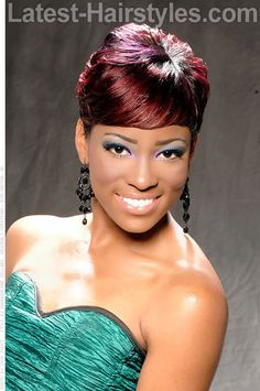 20 Smokin' Red Hairstyles for African American Hair
