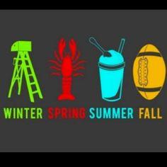 Louisiana seasons ;)