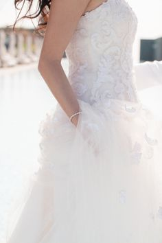 Dreamy gown: http://www.stylemepretty.com/little-black-book-blog/2015/04/23/romantic-thailand-destination-wedding/ | Photography: Sandra Aberg - http://www.sandraaberg.com/