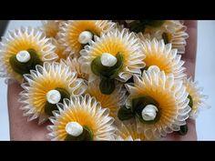 #carkıfelek#oyası#yapımı# elif#tıraş# - YouTube Organza Flowers, Fabric Flowers, Neli Quilling, Flower Video, Arts And Crafts, Diy And Crafts, Ribbon Crafts, Ribbon Embroidery, Diy Videos