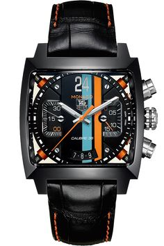@Tyler Gerritsen Heuer Monaco Automatic Chronograph Titanium Carbide #TAGHeuer #TAG @D C #watch #watches March Madness