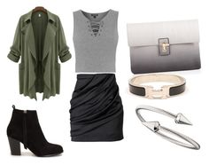 """""""Untitled #258"""" by pumpkin-hart on Polyvore featuring Topshop, Balmain, Nly Shoes, Lipsy, Hermès and Jules Smith"""