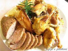 Il cappone ripieno. Uno dei piatti tipici della tradizione natalizia. - Ricetta Portata principale : Cappone ripieno da Renza50