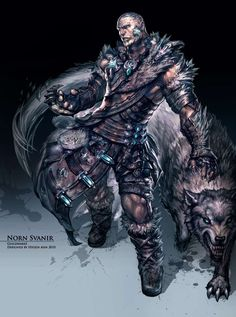 Male Norn Svanir