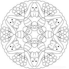 easter egg mandala Mandaly Pinterest Mandala Easter and Egg