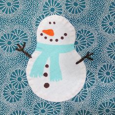 """3.5"""" block - BBC - Christmas/Winter Theme by Sandy in Buenos Aires, via Flickr"""