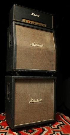 1973 Marshall Super Lead 100 Full Stack Does it get any better? Um, NO!