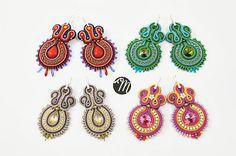 Veronika - soutache earrings
