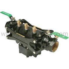 "1-1/2"" Reduced Pressure Backflow Preventer w/ Black Epoxy Coating (Lead-Free)"