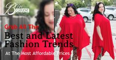 Look Amazing everyday. Shop B'in Gruene for your Plus Size fashion