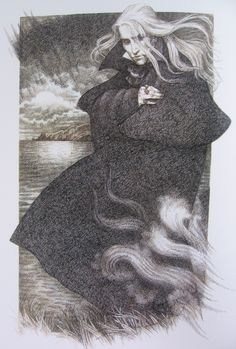 Anne Yvonne Gilbert: Dracula Illustration