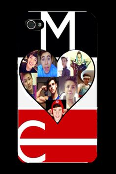 #Magcon Boys Collage iPhone Case for iPhone 4/4s & 5/5s