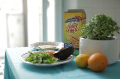 salmão e abacate [bom dia!]