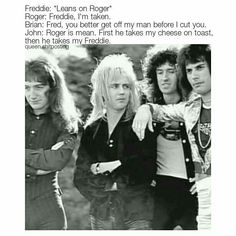 Read Maylor from the story QUEEN MEMES by Roger_Hot_Drummer with reads. These memes are about Maylor part 5 Queen Photos, Queen Pictures, Save The Queen, I Am A Queen, Freddie Reign, Queen Meme, Queen Freddie Mercury, Queen Band, All The Things Meme