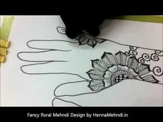 love her stuff!  Mehendi Designs video from http://www.hennamehndi.in. A fancy floral mehendi designs for all parties.