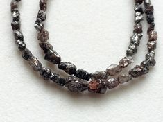 Red Brown Raw Diamonds Tumbles Red Brown Diamond by gemsforjewels